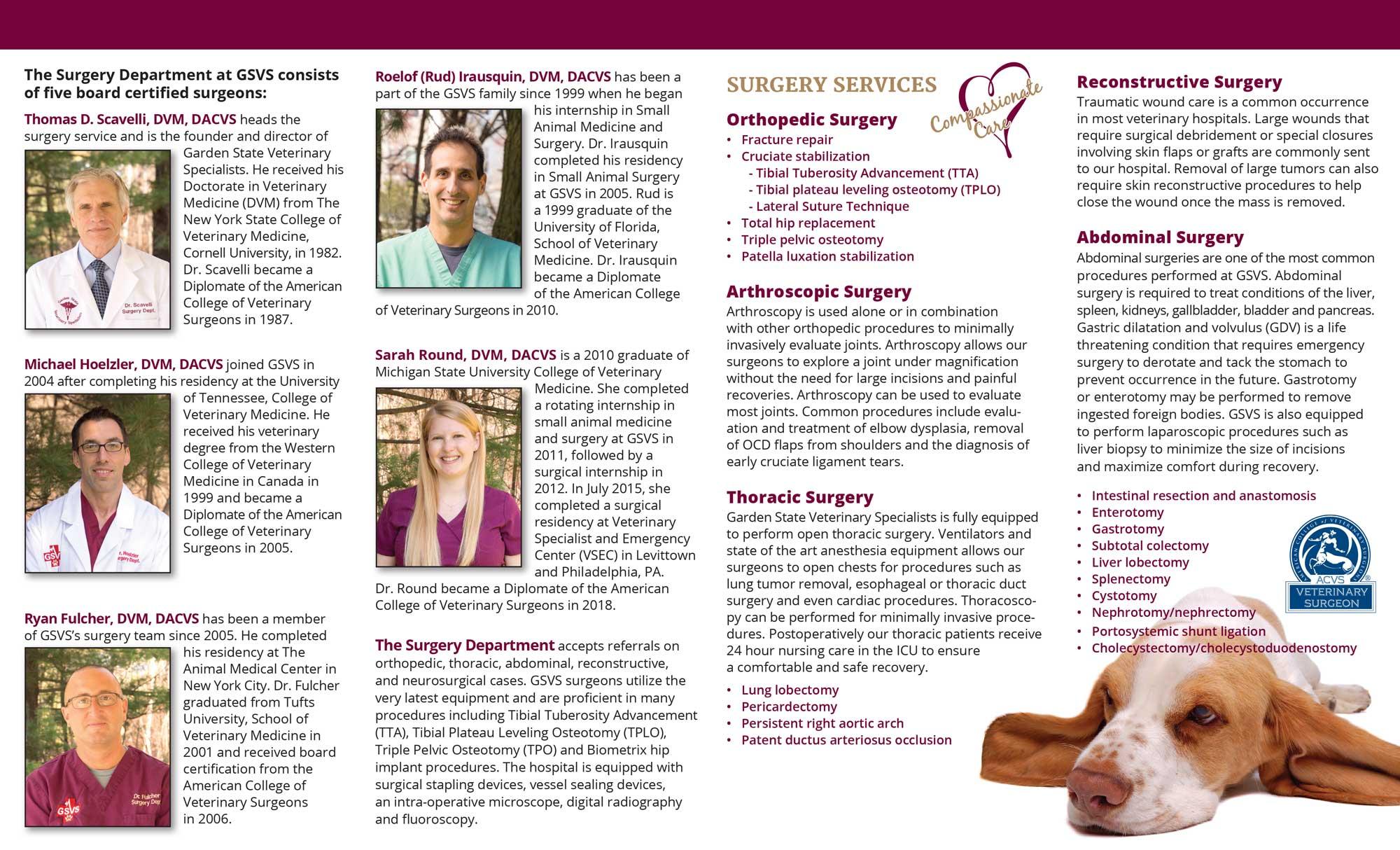 GSVS Surgery Brochure_Inside