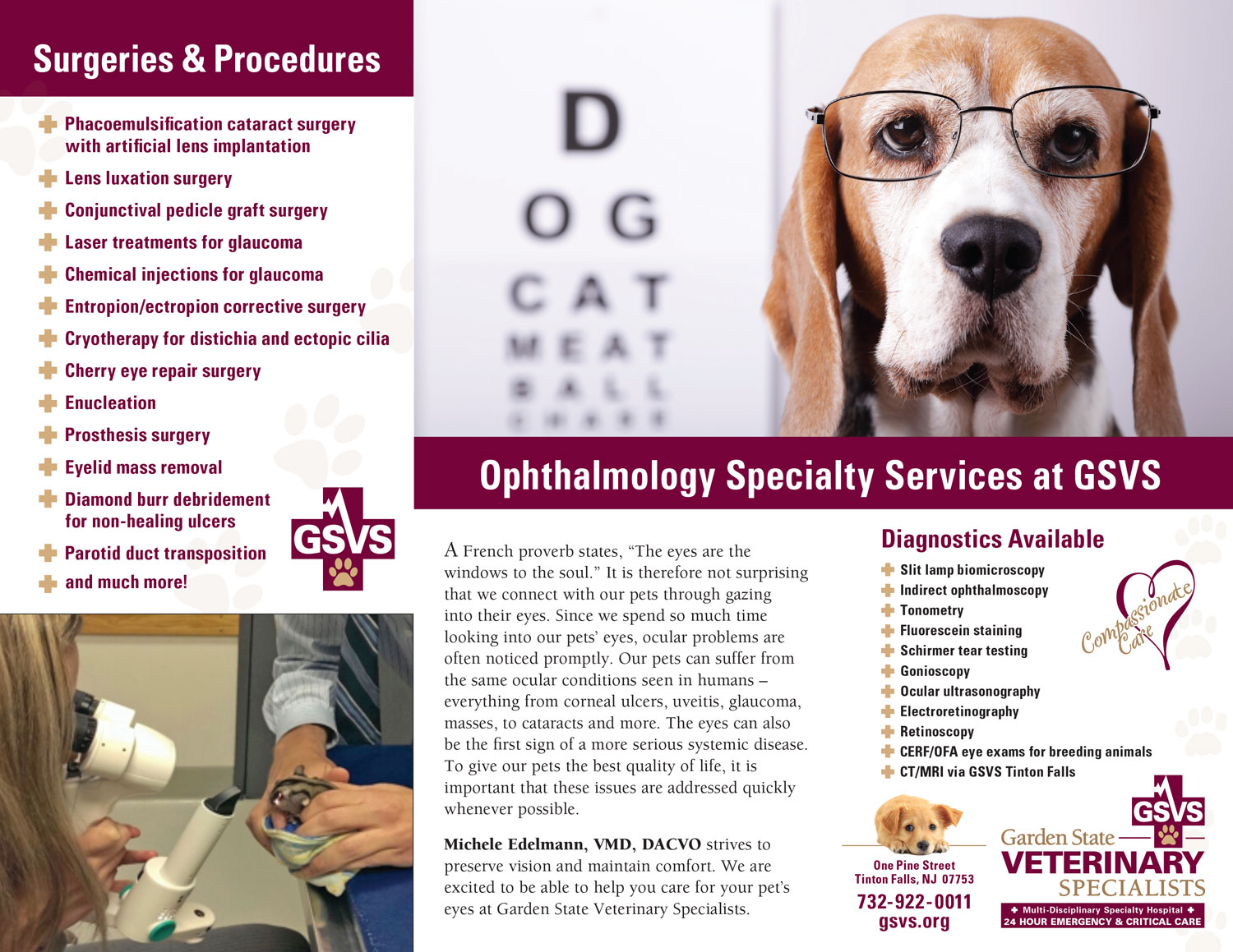 Ophthalmology Brochure_Inside